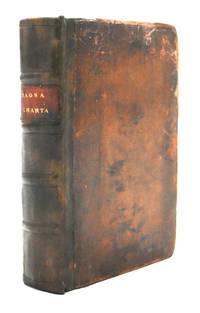 image of Magna Charta cum statutis, tum antiquis, tum recentibus, maximopere, animo tenendis, nunc demum ad vnum, tipis aedita, per Richardum Tottill