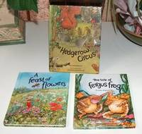 My Nature Library Set of Three:  A Feast Of Flowers, The Tale Of Fergus Frog and The Hedgerow Circus