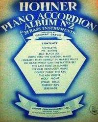 Hohner Piano Accordion   Album No 2  [Bass] by Graves Conway - from Music by the Score and Biblio.co.uk