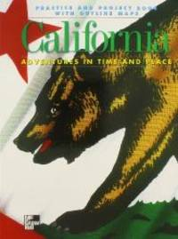 California: Practice and Project Book With Outline Maps