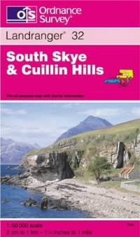 South Skye and Cuillin Hills (Landranger Maps) by Ordnance Survey