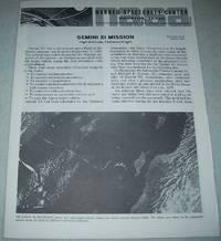 Gemini XI High Altitude, Tethered Flight Fact Sheet 291-H