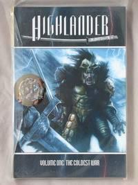 Highlander, Volume 1: The Coldest War (Kurgan cover)