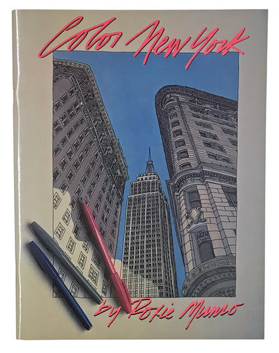 New York: Timbre Books, 1985. First edition of this architectural coloring book by New Yorker illust...