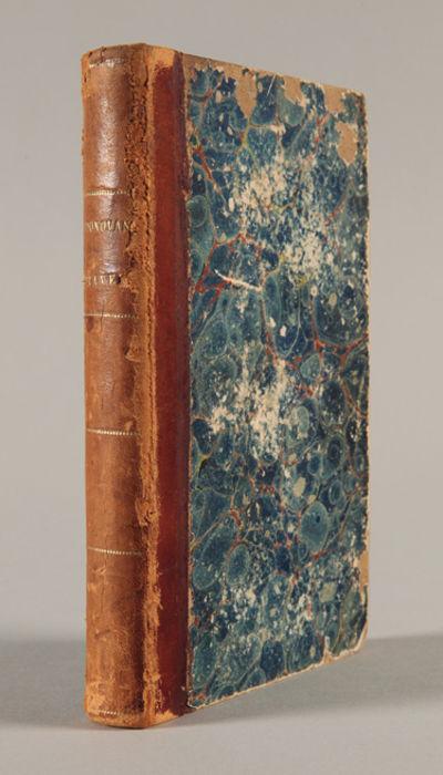 Pittsburgh, 1864. 382pp. Original half calf and marbled boards, spine gilt. Front hinge cracked, spi...
