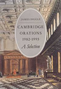 Cambridge Orations 1982-1993 A Selection