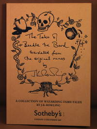 Auction catalog: The Tales of Beedle the Bard, A Collection of Wizarding Fairy-Tales.