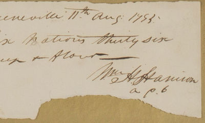 11/08/1795. William Henry Harrison A search of public sale records indicates that the last such docu...