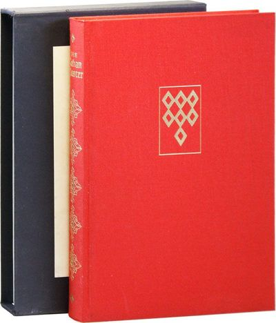 New York: George Braziller, 1973. First Edition. Small quarto. Red cloth boards in pictorial board s...