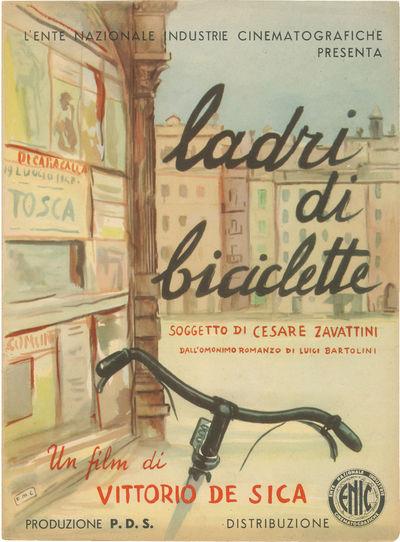 Rome: Ente Nazionale Industrie Cinematografiche , 1948. Vintage pressbook for the 1948 Italian film....