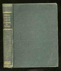 German-English Science Dictionary by  Louis DE VRIES - Paperback - 1946 - from Between the Covers- Rare Books, Inc. ABAA (SKU: 234256)