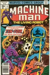 MACHINE MAN The Living Robot: June #3
