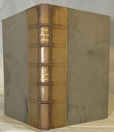 East Aurora: Roycrofters, 1905. First edition. Hardcover. Half brown calf and darker brown boards. T...