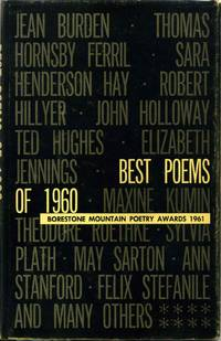 BEST POEMS OF 1960. Borestone Mountain Poetry Awards 1961. Volume XIII.