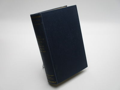 Washington. : Government Printing Office. , 1947 . Blue cloth, gilt spine title. . Very good, ink na...