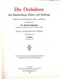 image of Die Orchideen, ihre Beschreibung, Kultur und Züchtung. Handbuch für Orchideenliebhaber, Züchter und Botaniker. Zweite, neubearbeitete Auflage herausgegeben von E. Miethe