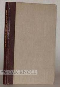 Seattle: Dogwood Press, 1931. quarter leather with paper-covered boards. Dogwood Press. large 12mo. ...