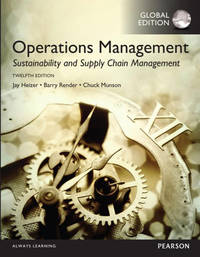 Operations Management: Sustainability and Supply Chain Management, Global Edn 12 Edition