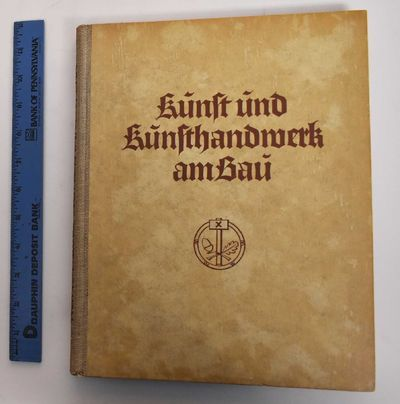 Stuttgart: Julius Hoffmann, 1938. 2nd. Hardcover. VG-, pencil marks and foxing on endsheets, light f...