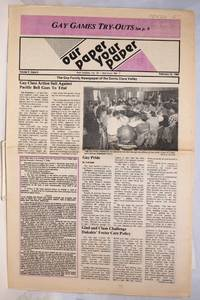 image of Our Paper, Your Paper; the gay family paper of the Santa Clara Valley; vol. 5, #4, February 19, 1986