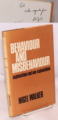 image of Behaviour and misbehaviour: explanations and non-explanations