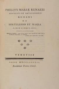 De Sortilegio et Magia, Liber Singularis, Venice, 1792
