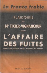 Plaidorie de Me tixier-vigancourt dans l'affaire des fuites