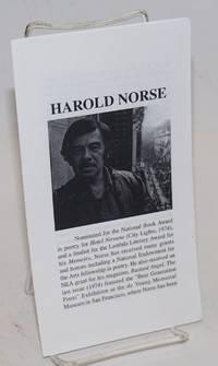 Harold Norse [brochure]