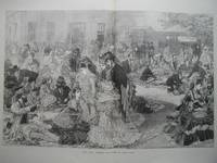image of Ascot Races: Luncheon Time Behind the Grand Stand.