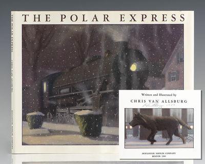 Boston: Houghton Mifflin Company, 1985. First edition of Van Allsburg's lushly illustrated, enchanti...