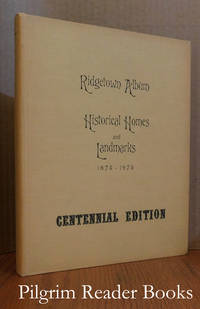 Ridgetown Album of Historical Homes and Landmarks, 1875-1975. Centennial  Edition.