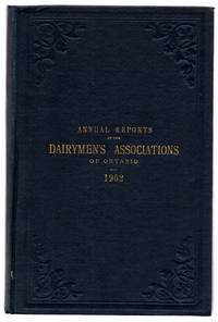 Annual Reports of the Dairymen's Associations of the Province of Ontario, 1902