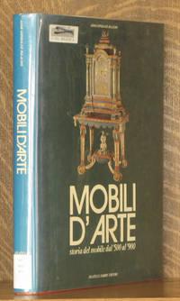 MOBILI D'ARTE, STORIA DEL MOBILE DAL 500 AL 900