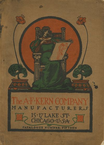 Boston: A.F. Kern Company, Manufacturers, 1904. 4to., 128 pp., numerous illustrations. Color illustr...