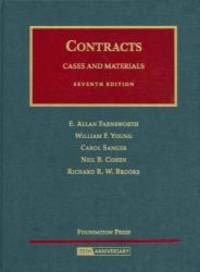 Cases and Materials on Contracts (University Casebook)