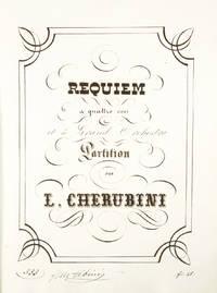 Requiem [Manuscript full score] a quattro voci et à Grand Orchestra Partition. Ca. 1845