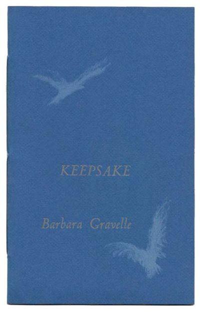 Berkeley: Two Windows Press, 1974. 1st edition. Ltd to 200cc. Blue wrappers, sewn. Fine.. Unpaginate...