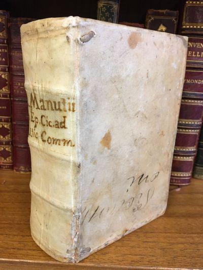 Venetiis: , 1557. Hardcover. Thick Octavo, , 432 leaves; VG; bound in contemporary vellum, ink titli...
