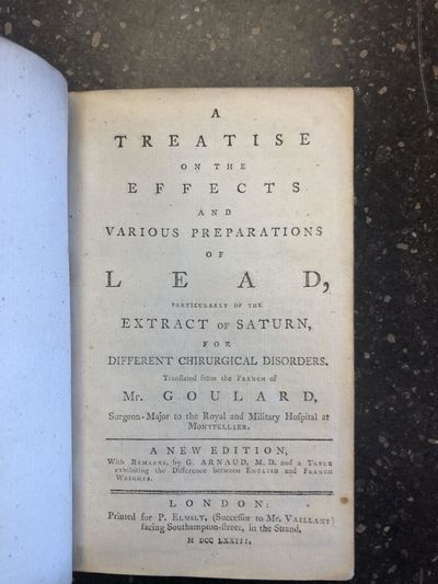 London: Printed for P. Elmsly, (successor to Mr. Vaillant) facing Southampton-Street, in the Strand,...