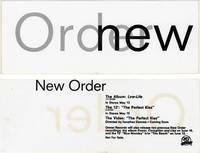 image of Low-Life (Original promotional sticker for the 1985 album)