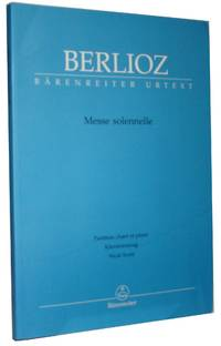 Berlioz, Messe solennelle   Partition chant et piano