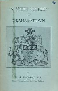 A Short History of Grahamstown