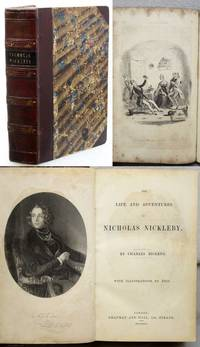 image of THE LIFE AND ADVENTURES OF NICHOLAS NICKLEBY.