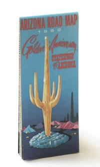 State of Arizona 1962 Road Map (plus Northwestern Mexico): Golden Anniversary of the Statehood of Arizona