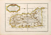 CARTE DE L'ISLE DE SAINTE LUCIE. by  Jacques Nicolas BELLIN - 1764 - from Peter Harrington (SKU: 56713)