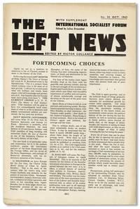The Left News. With Supplement - International Socialist Forum. No. 88 (Oct. 1943)