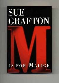 image of M Is For Malice  - 1st Edition/1st Printing