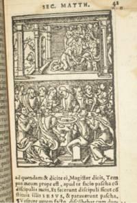 BIBLE 1541, New Testament, in Latin.
