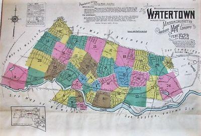 New York: Sanborn Map Company, 1923. Elephant folio, 13