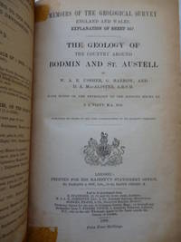 The Geology of the Country Around Bodmin & St. Austell